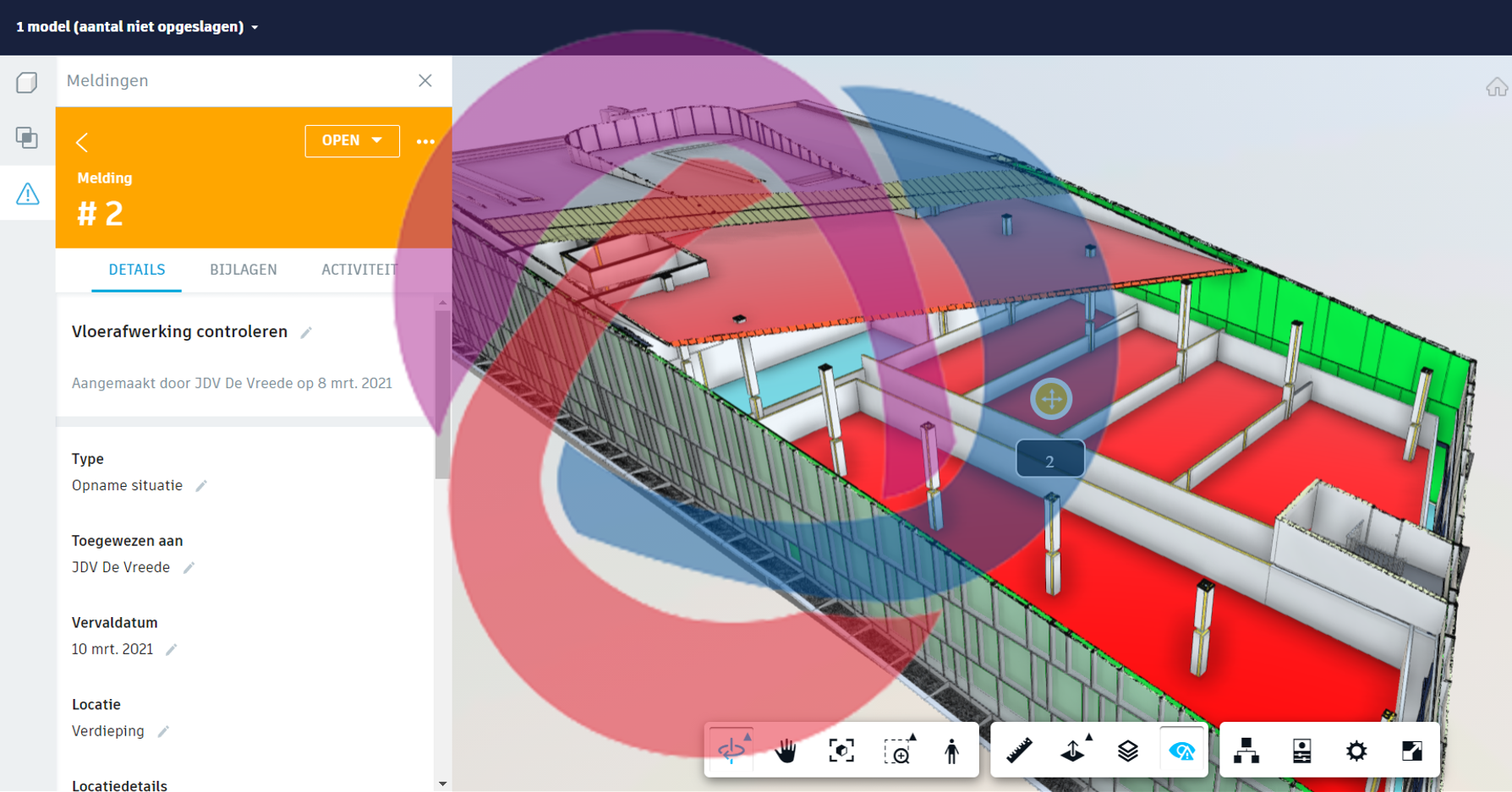 BCF screenshot bim360